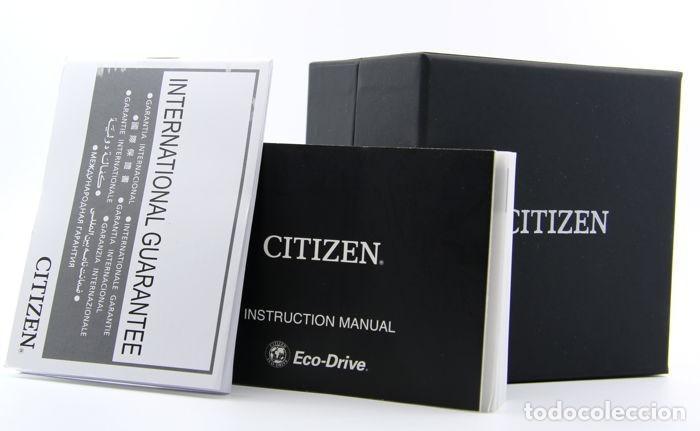 Relojes - Citizen: Citizen Eco Drive Crono Plata / Negro - Foto 4 - 243115040