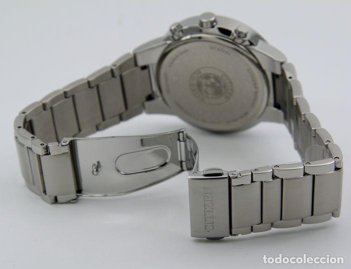 Relojes - Citizen: Citizen Eco Drive Crono Plata / Negro - Foto 5 - 243115040