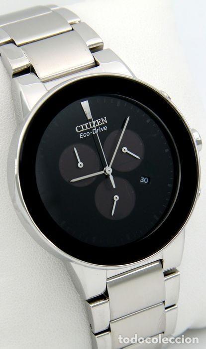 Relojes - Citizen: Citizen Eco Drive Crono Plata / Negro - Foto 6 - 243115040