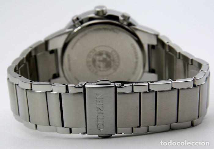 Relojes - Citizen: Citizen Eco Drive Crono Plata / Negro - Foto 7 - 243115040