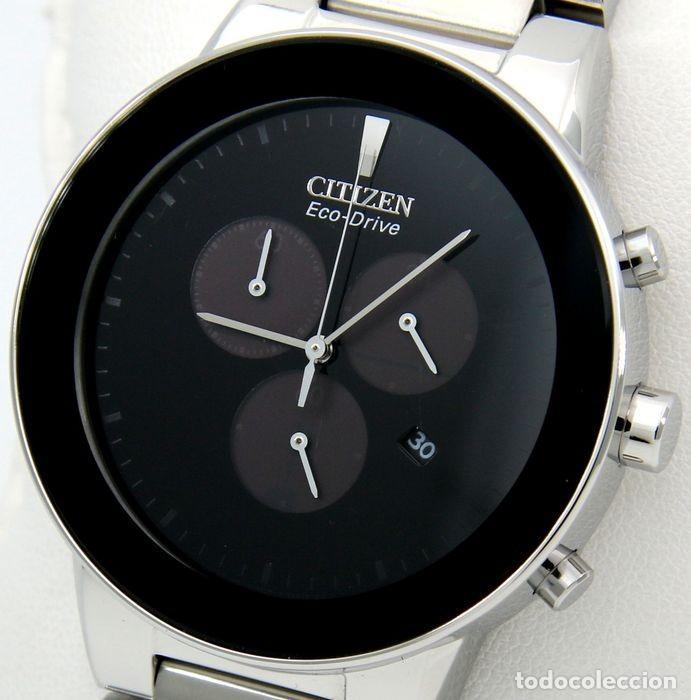 Relojes - Citizen: Citizen Eco Drive Crono Plata / Negro - Foto 10 - 243115040
