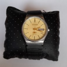 Relojes - Citizen: RELOJ CITIZEN 21 JEWELS CRISTAL AUTOMATICO DOBLE CALENDARIO ÁRABE / INGLES. FUNCIONANDO.VER FOTOS.. Lote 243562700