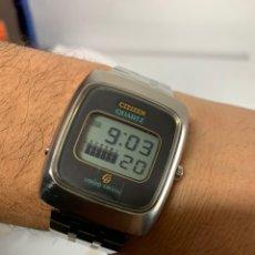 Relojes - Citizen: RELOJ VINTAGE CITIZEN LIQUID CRYSTAL TODO ORIGINAL JAPAN.. Lote 243897560