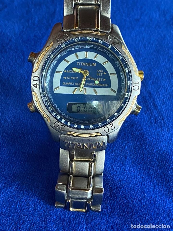 Relojes - Citizen: Reloj Citizen Movt Universal Titaniun - Foto 2 - 245547020