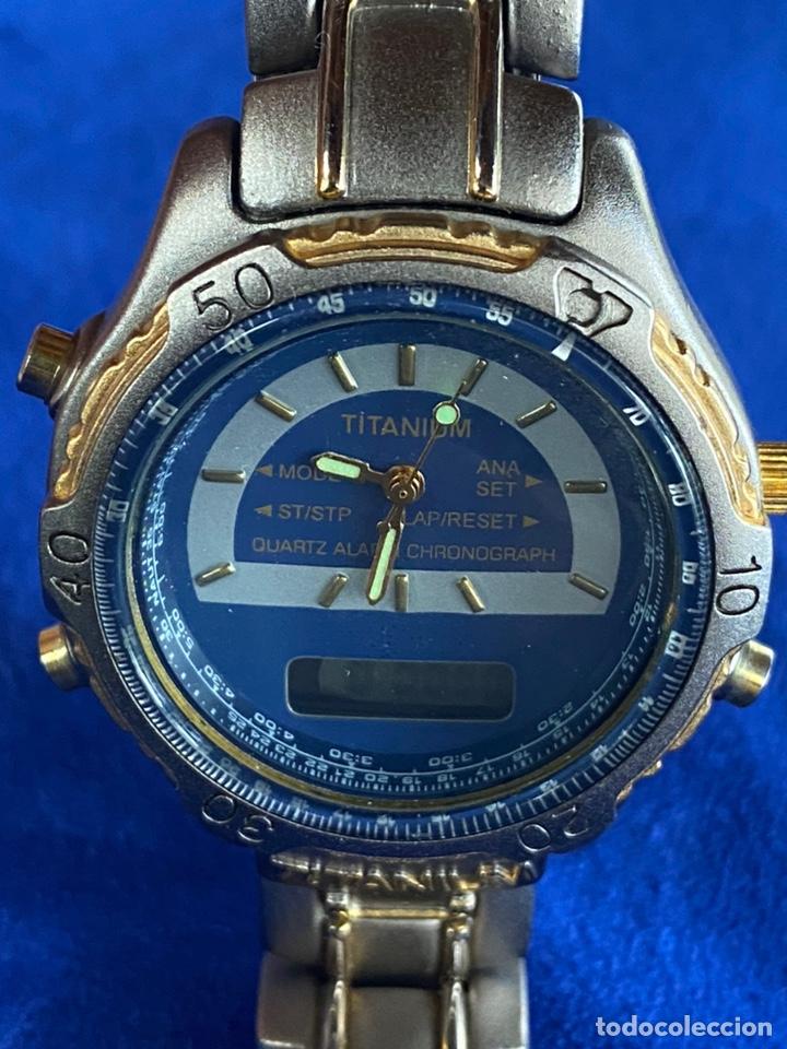 Relojes - Citizen: Reloj Citizen Movt Universal Titaniun - Foto 3 - 245547020
