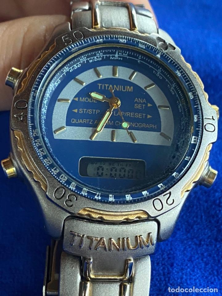 Relojes - Citizen: Reloj Citizen Movt Universal Titaniun - Foto 4 - 245547020