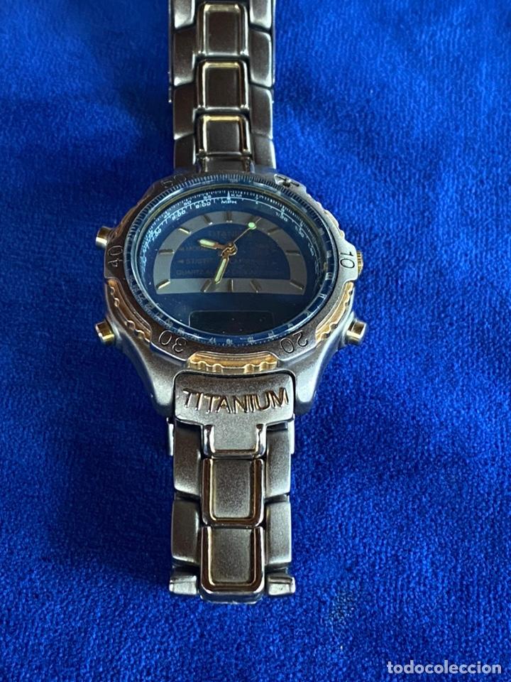Relojes - Citizen: Reloj Citizen Movt Universal Titaniun - Foto 7 - 245547020