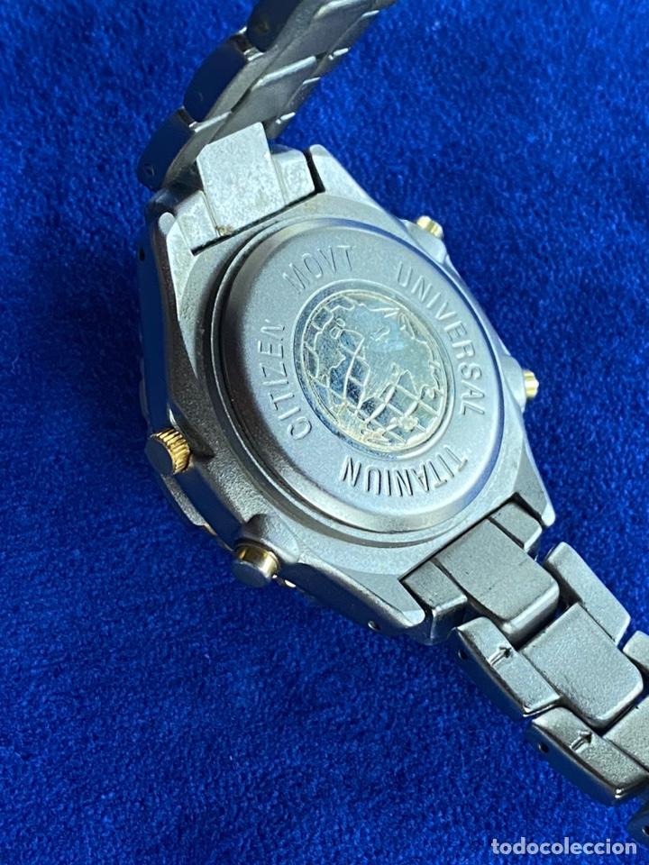 Relojes - Citizen: Reloj Citizen Movt Universal Titaniun - Foto 8 - 245547020