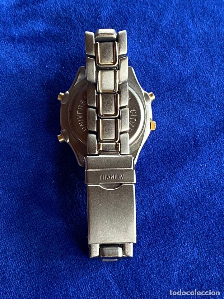 Relojes - Citizen: Reloj Citizen Movt Universal Titaniun - Foto 9 - 245547020