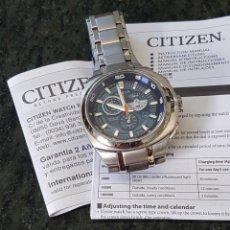 Relógios - Citizen: RELOJ CITIZEN CABALLERO. AUTOMÁTICO Y SUMERGIBLE. ECO - DRIVE TITANIO. Lote 245633810