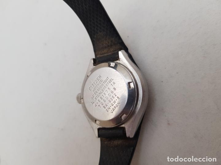 Relojes - Citizen: RARO CITIZEN AUTOMATICO SPACE 64 9252 ACERO FUNCIONANDO 29MM CON BRAZALETE - Foto 7 - 246843490