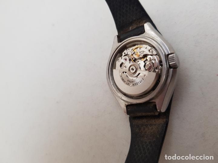 Relojes - Citizen: RARO CITIZEN AUTOMATICO SPACE 64 9252 ACERO FUNCIONANDO 29MM CON BRAZALETE - Foto 8 - 246843490