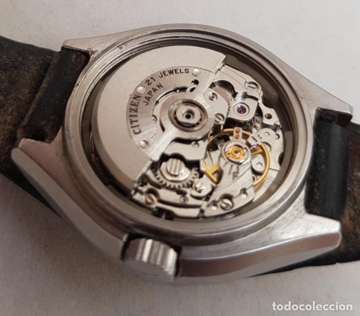 Relojes - Citizen: RARO CITIZEN AUTOMATICO SPACE 64 9252 ACERO FUNCIONANDO 29MM CON BRAZALETE - Foto 10 - 246843490