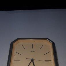 Relojes - Citizen: RELOJ DE PARED CITIZEN QUARTZ JAPAN FUNCIONANDO LEER DESCRIPCIÓN. Lote 247944650