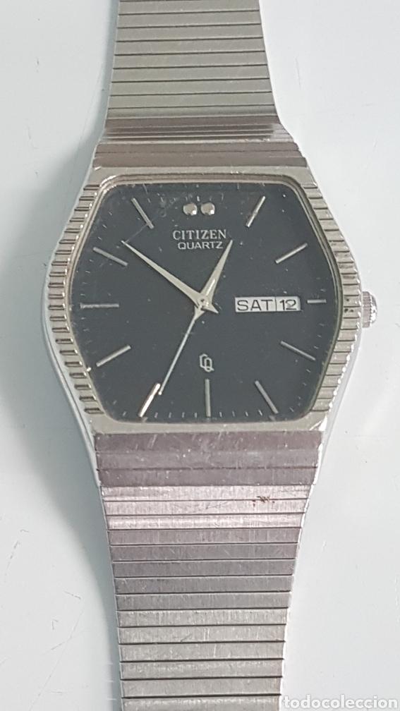 RELOJ ZITIZEN QUARTZ DOBLE CALENDARIO. (Relojes - Relojes Actuales - Citizen)