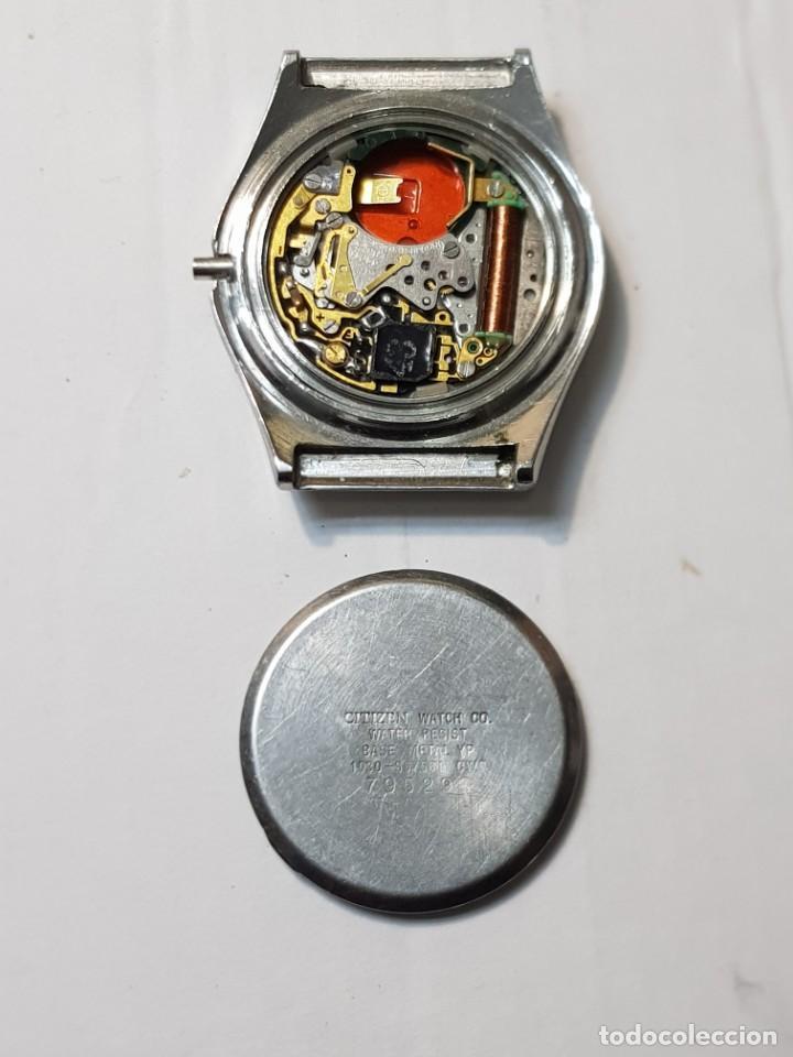 Relojes - Citizen: Reloj Caballero Quarzo Citizen CQ para repasar o piezas - Foto 3 - 251538295
