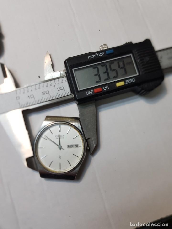Relojes - Citizen: Reloj Caballero Quarzo Citizen CQ para repasar o piezas - Foto 5 - 251538295