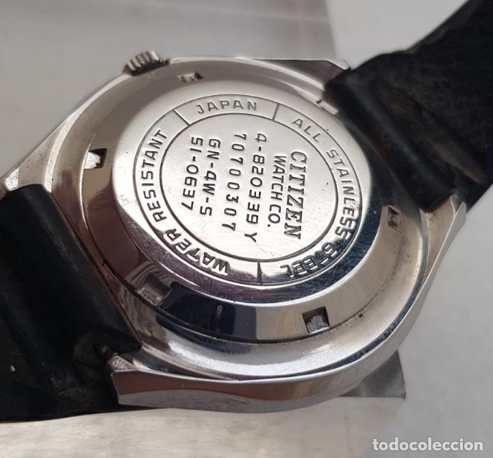 Relojes - Citizen: RARO CITIZEN AUTOMATICO SPACE 51 - 0637 ACERO FUNCIONANDO 40MM CON BRAZALETE - Foto 7 - 253029050