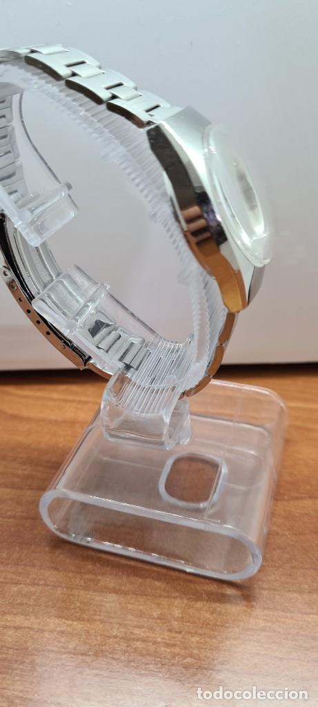 Relojes - Citizen: Reloj caballero (Vintage) CITIZEN acero automático con calendario a las tres horas, correa de acero. - Foto 9 - 253786730
