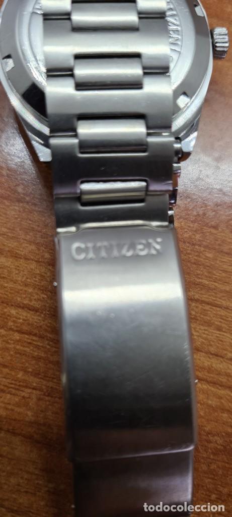 Relojes - Citizen: Reloj caballero (Vintage) CITIZEN acero automático con calendario a las tres horas, correa de acero. - Foto 16 - 253786730