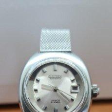Relojes - Citizen: RELOJ SEÑORA ACERO (VINTAGE) CITIZEN AUTOMÁTICO, CAJA ACERO, ESFERA BLANCA, CORREA ACERO VENECIANA.. Lote 253822495