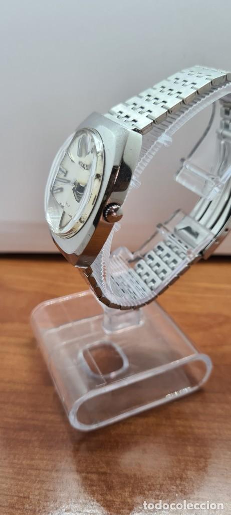 Relojes - Citizen: Reloj caballero (Vintage) CITIZEN automático acero con doble calendario a las tres, correa de acero - Foto 9 - 255505015