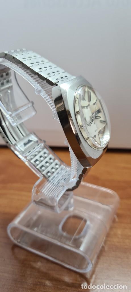 Relojes - Citizen: Reloj caballero (Vintage) CITIZEN automático acero con doble calendario a las tres, correa de acero - Foto 10 - 255505015