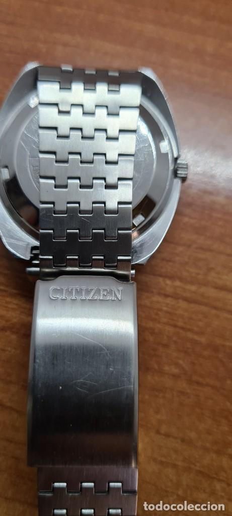 Relojes - Citizen: Reloj caballero (Vintage) CITIZEN automático acero con doble calendario a las tres, correa de acero - Foto 11 - 255505015