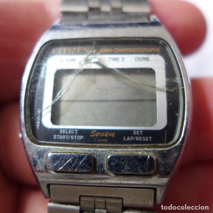Relojes - Citizen: RELOJ DE PULSERA DIGITAL CITIZEN SEVEN ST-3030 - Foto 5 - 255536535