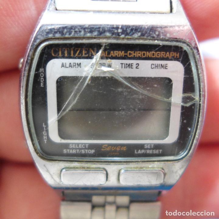 Relojes - Citizen: RELOJ DE PULSERA DIGITAL CITIZEN SEVEN ST-3030 - Foto 6 - 255536535