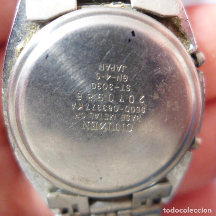 Relojes - Citizen: RELOJ DE PULSERA DIGITAL CITIZEN SEVEN ST-3030 - Foto 9 - 255536535