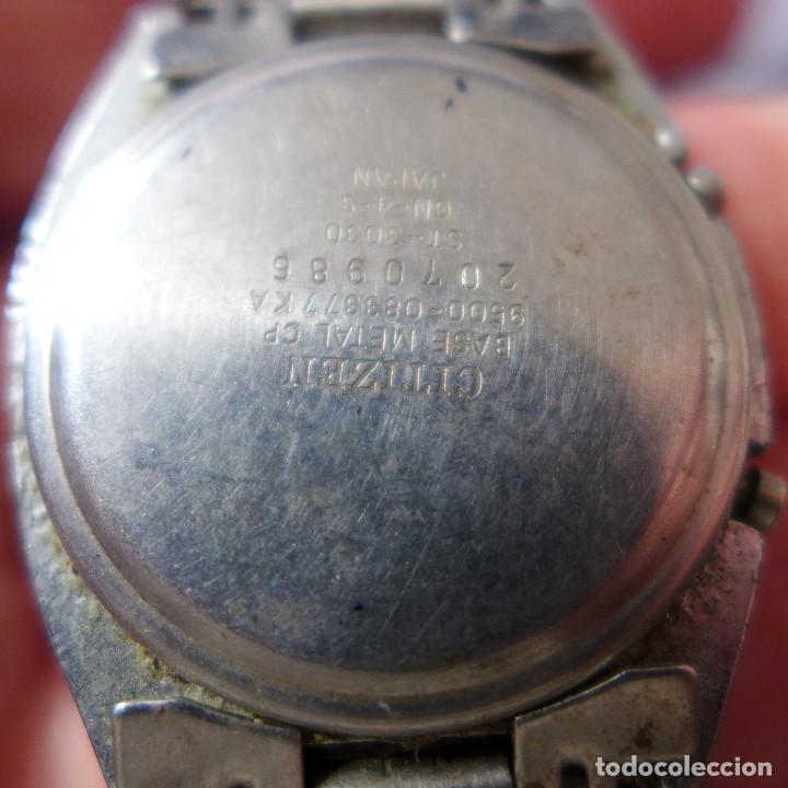 Relojes - Citizen: RELOJ DE PULSERA DIGITAL CITIZEN SEVEN ST-3030 - Foto 10 - 255536535
