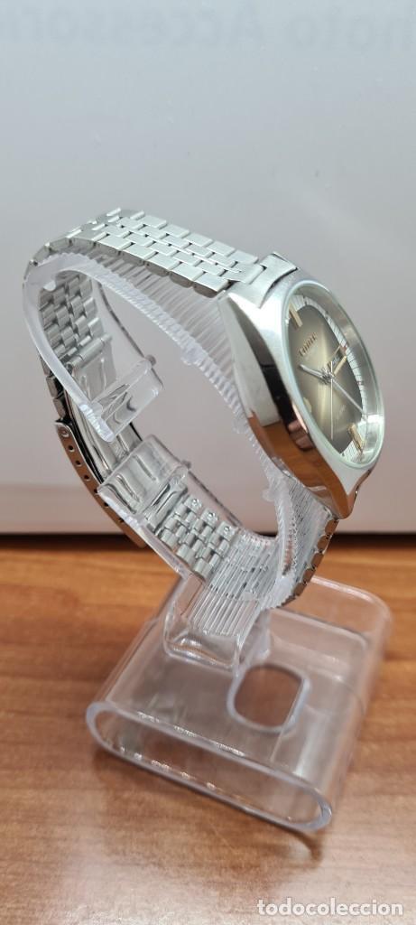 Relojes - Citizen: Reloj caballero (Vintage) CITIZEN automático acero con doble calendario a las tres, correa de acero - Foto 10 - 258020015