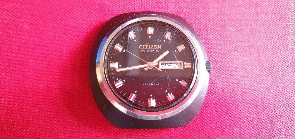 RELOJ CITIZEN 21 JEWELS AUTOMATICO FUNCIONA .MIDE 41.6 MM DIAMETRO (Relojes - Relojes Actuales - Citizen)
