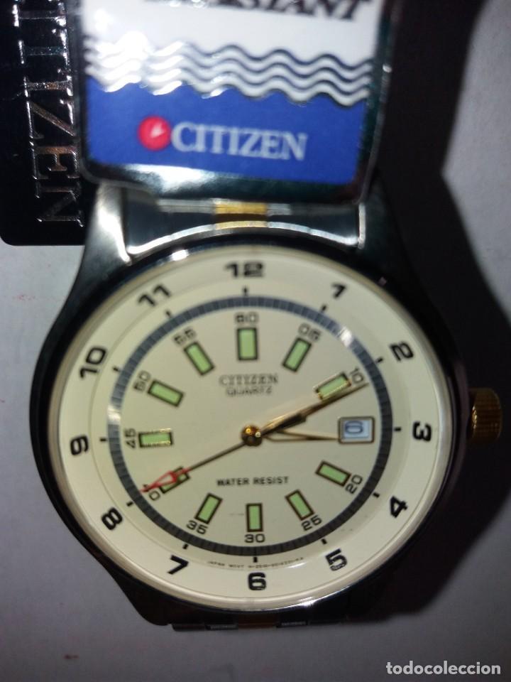 Relojes - Citizen: SOBERBIO RELOJ CITIZEN QUARTZ WATER RESISTANT NUEVO Y EN PLENO FUNCIONAMIENTO - Foto 21 - 262950720