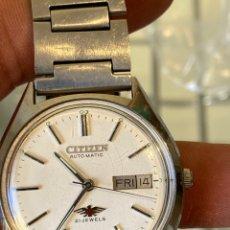 Relojes - Citizen: CITIZEN AUTOMÁTICO, FUNCIONANDO. Lote 262992745