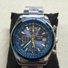 Relógios - Citizen: CITIZEN BLUE ANGELS WORLD CHRONOGRAPH NUEVO. Lote 254021605