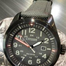 Relojes - Citizen: RELOJ CITIZEN ECO DRIVE - AVIATOR GREEN - AW5005 39H ¡¡NUEVO!! (VER FOTOS). Lote 267402174