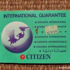 Relojes - Citizen: RELOJ CITIZEN - GARANTIA. Lote 276127803