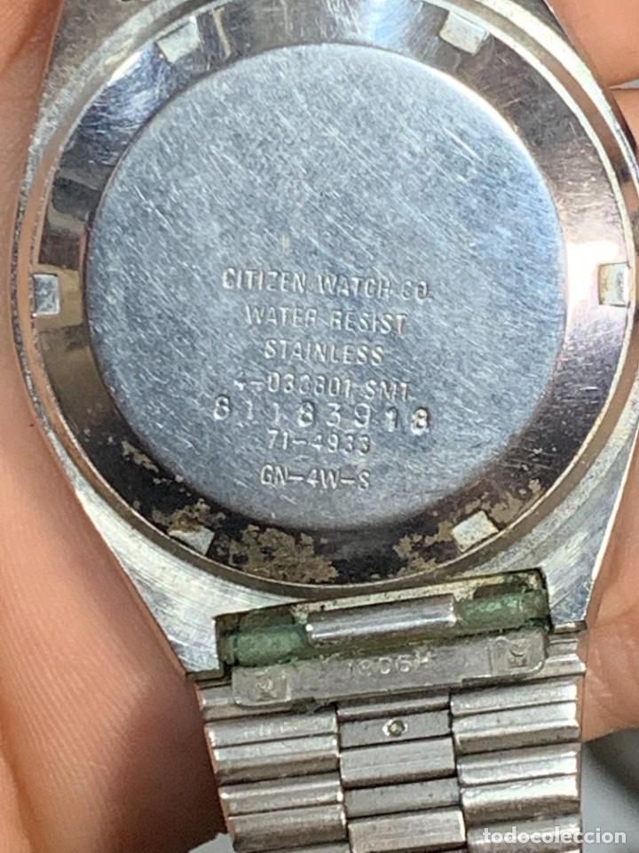 Relojes - Citizen: RELOJ CITIZEN AUTOMATIC 21 JEWELS 35MM AÑOS 70 - Foto 5 - 277637888
