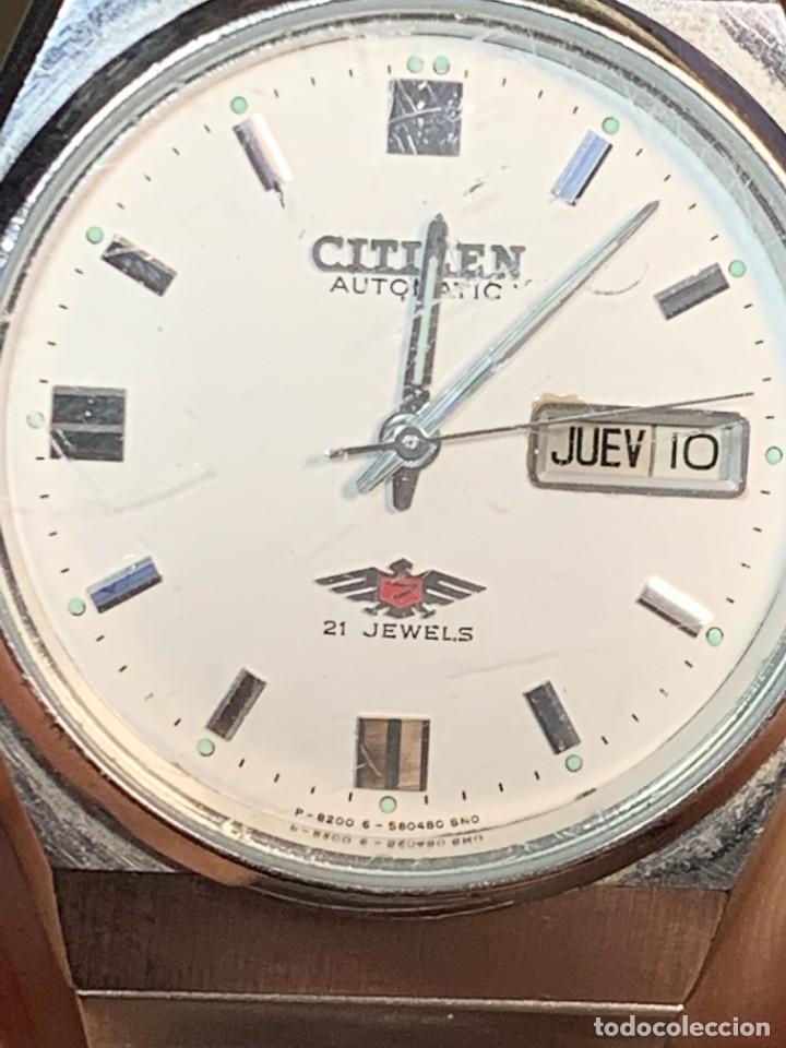 Relojes - Citizen: RELOJ CITIZEN AUTOMATIC 21 JEWELS 35MM AÑOS 70 - Foto 8 - 277637888