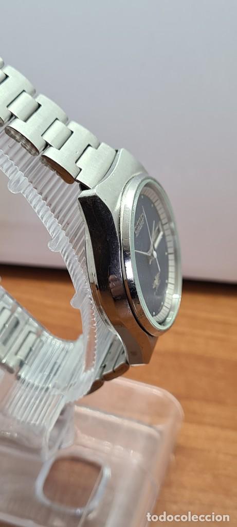 Relojes - Citizen: Reloj caballero (Vintage) CITIZEN automático acero con doble calendario a las tres, correa de acero - Foto 10 - 280209653
