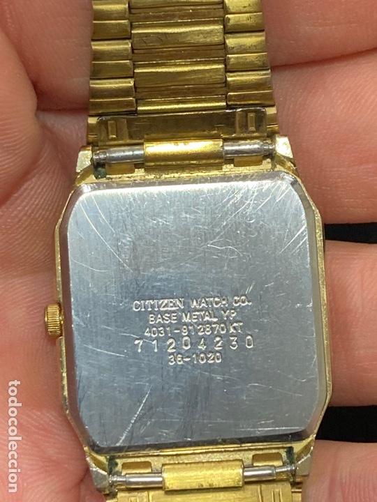 Relojes - Citizen: Lote de 2 relojes citizen, cuarzo - Foto 3 - 284202008