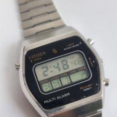 Relojes - Citizen: RELOJ COLECCIÓN VINTAGE CITIZEN WATCH CO. LCD MULTI ALARM JAPAN. Lote 290988278
