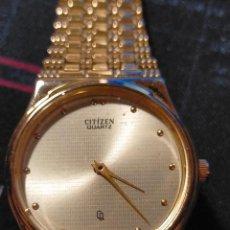 Relojes - Citizen: IMPECABLE RELOJ CITIZEN CHAPADO EN ORO. Lote 294376838