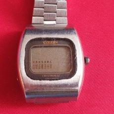 Relojes - Citizen: RELOJ CITIZEN CRYSTRON LC NO FUNCIONA. MIDE 35.5MM DIAMETRO. Lote 295632783