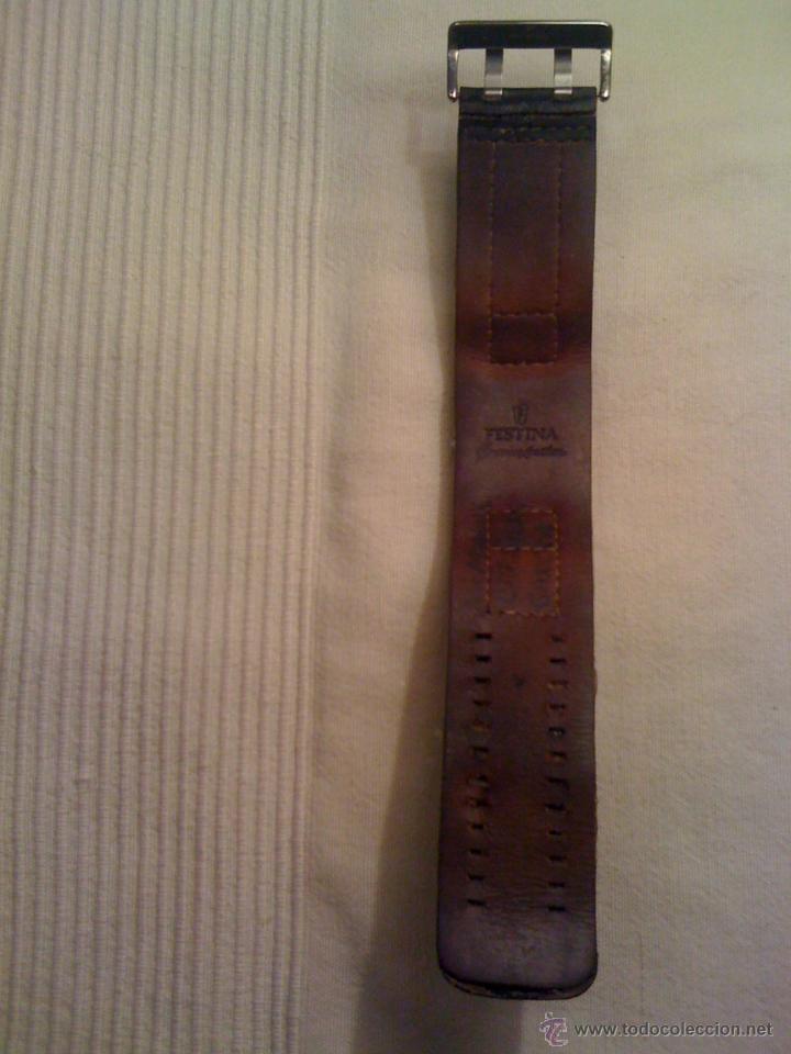 Relojes - Fossil: Reloj FOSSIL de pulsera con correa de cuero. Funcionando - Foto 2 - 45855558