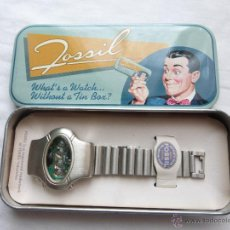 Montres - Fossil: RELOJ FOSSIL LED LIMITED EDITION WATCH 1984 TIN BOX COLLECTABLE VINTAGE/RETRO DIGITAL - NUEVO -. Lote 52010702