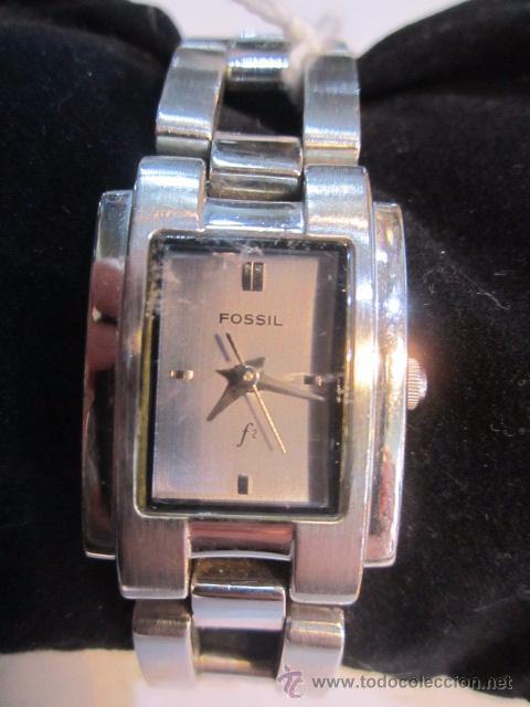 obtener online ofrecer descuentos venta minorista Reloj de pulsera Fossil señora. Cuarzo. 2 x 2,5 cms.