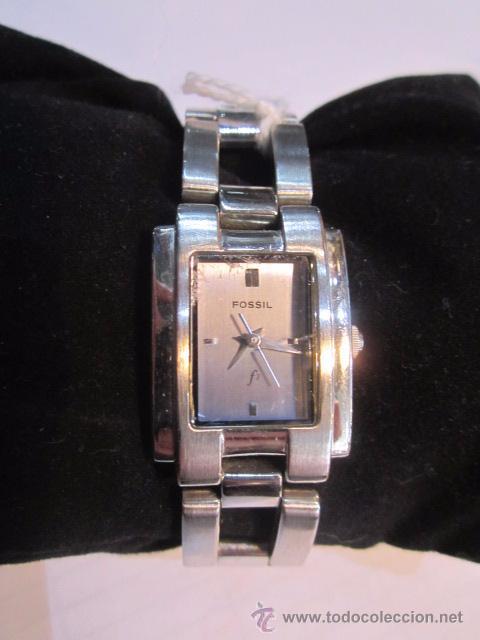 Relojes - Fossil: Reloj de pulsera Fossil señora. Cuarzo. 2 x 2,5 cms. - Foto 2 - 54595892